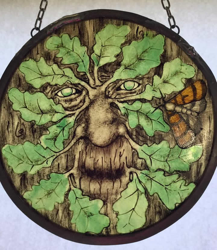 heart of the oak green man