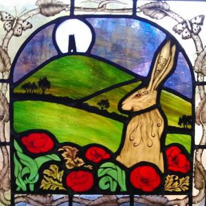 moon gazing hare glastonbury