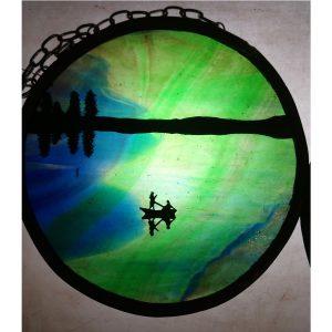 aurora borealis boat