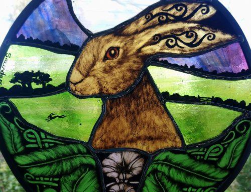 Bindweed Moongazing Hare