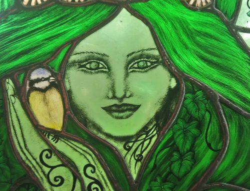 Summer Green Lady