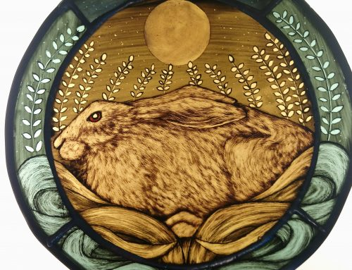 new Resting  moon gazing hare